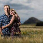 photo shoot at Yellowcraig Beach Jodie and Jamie 01