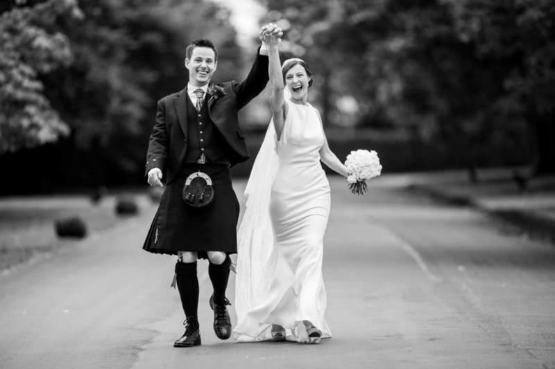 Prestonfield House - Jen and David