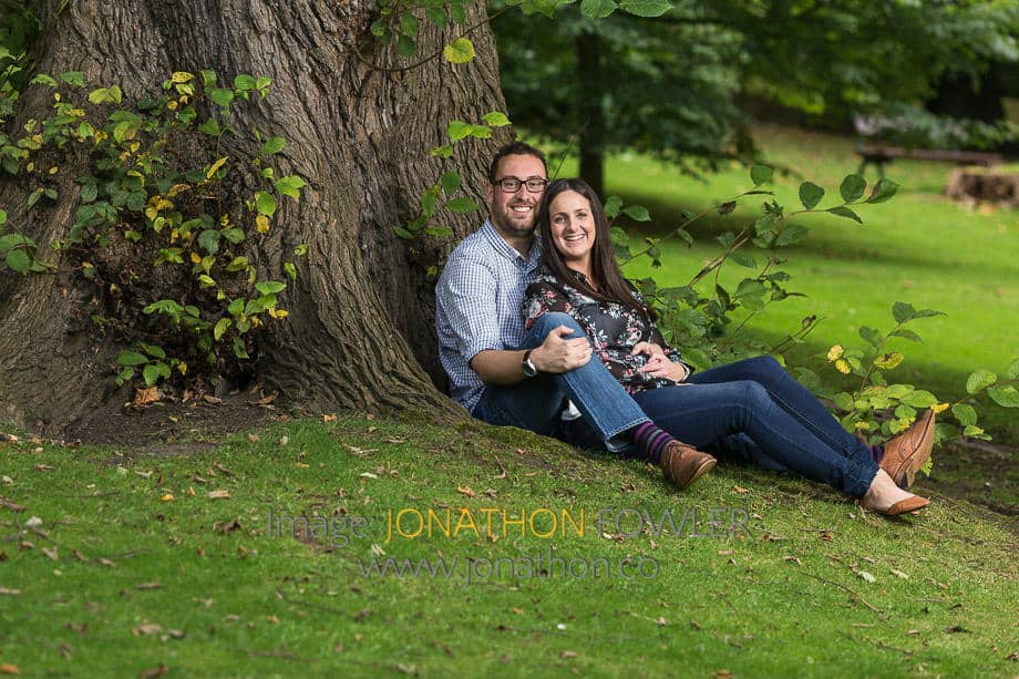 Engagement Photographer Edinburgh With Iain And Louise At Queen Street Gardens 01