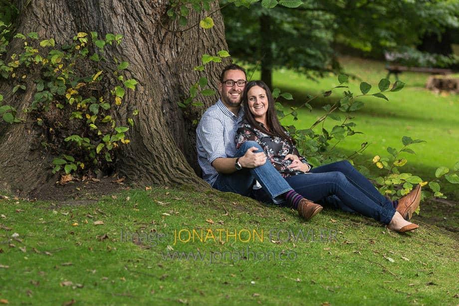 Queen Street Gardens pre-wedding photos Iain and Louise 01