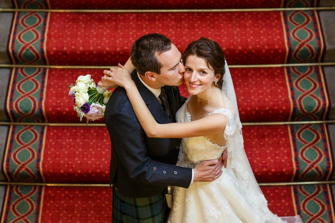 Royal College Of Physicians Edinburgh wedding Melanie and Alan