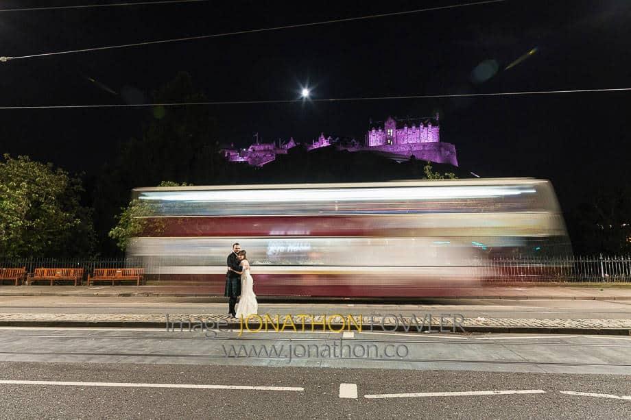 Royal Over-Seas League Edinburgh Wedding
