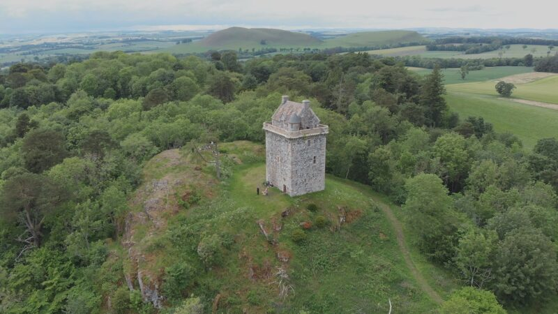 Scottish Borders Wedding Video - Kerry and Liam at Fatlips Castle