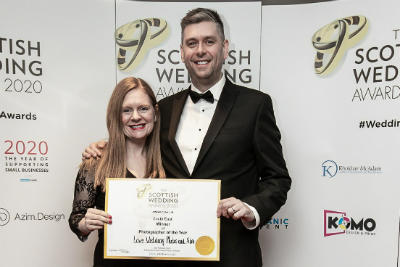 Scottish Wedding Photographer Of The Year South East – Scottish Wedding Awards 2020