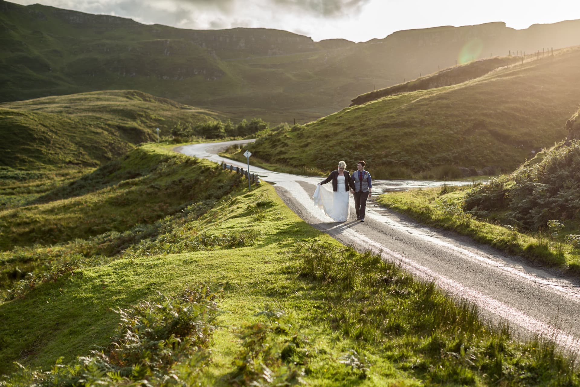 Edinburgh Wedding Photographer and Videographer Scotland - Skye Quiraing Elopement