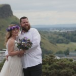 Shelagh and Nathan – Hotel Indigo Edinburgh Princes Street