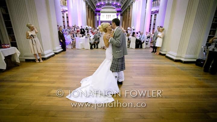 Signet Library wedding Natasha and Harry