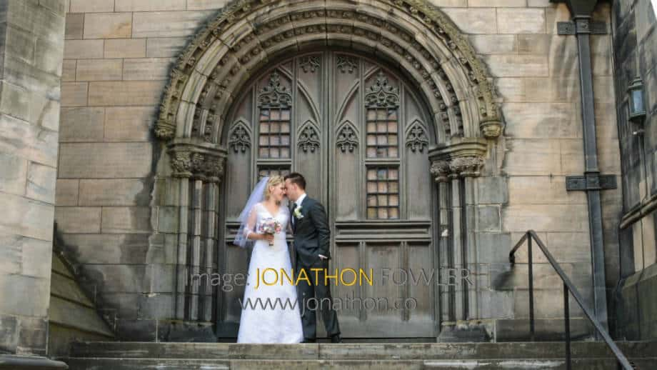 St Mary's Cathedral Wedding - Angelika and Ricky