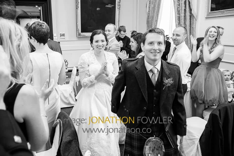wedding at St Salvator's Chapel