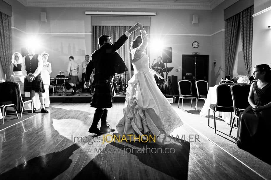 St Salvator's Chapel wedding