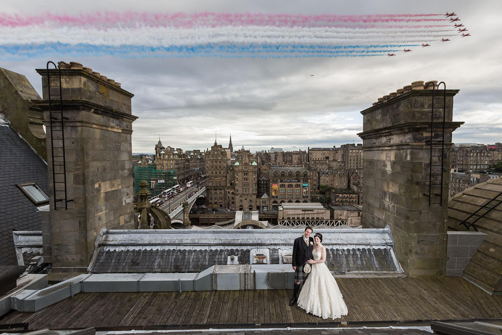Wedding Photo Of The Year Edinburgh Wedding Photographer Balmoral Hotel Wedding