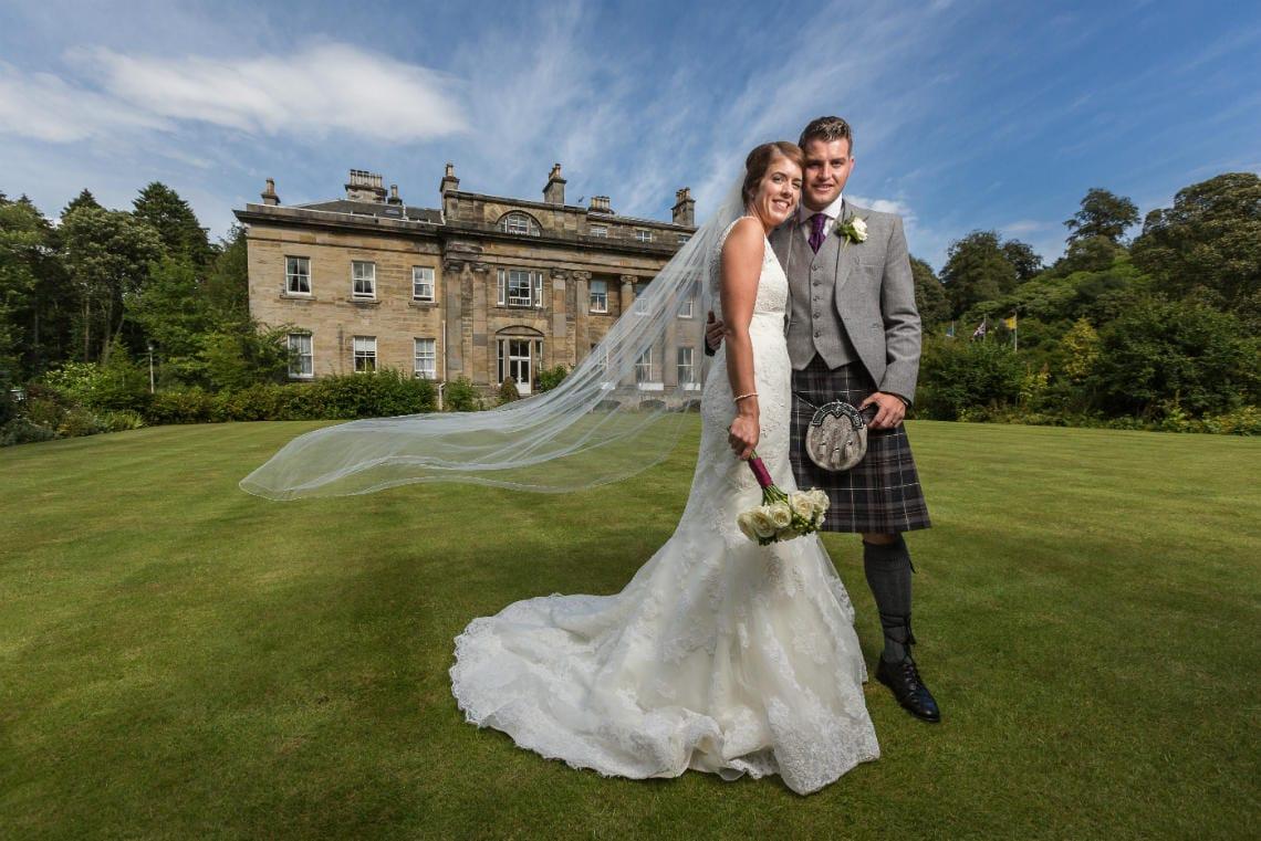 Wedding at Balbirnie House Hotel