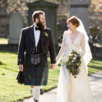Amy and Calum – Greyfriars Kirk and Waldorf Astoria Edinburgh – The Caledonian Hotel