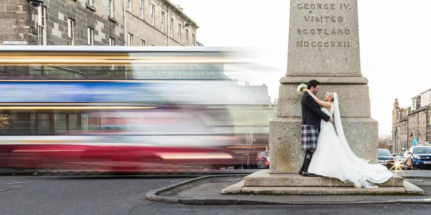 Wedding photographer in Edinburgh - George Hotel wedding Andrew and Claire