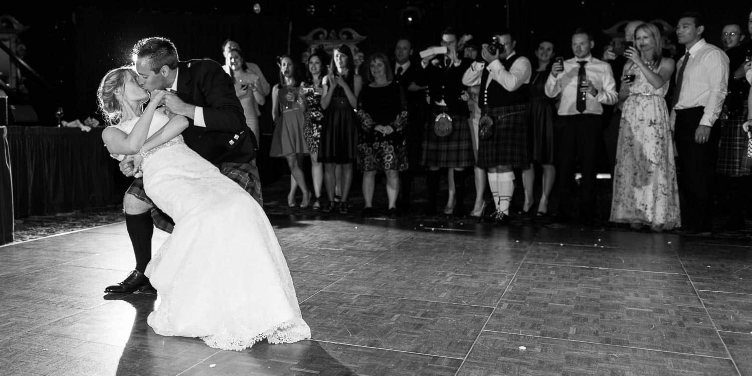 Wedding photographer in Scotland - Prestonfield House newlyweds Eimear and Julien