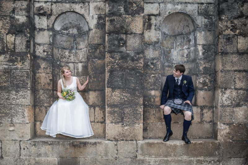 Wedding photography prices in Scotland