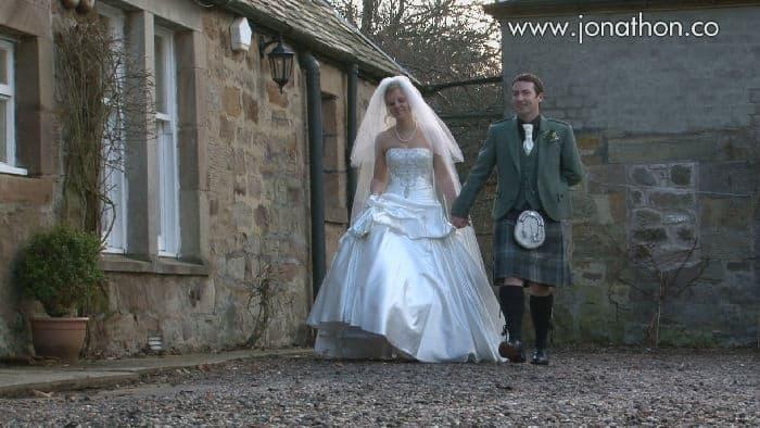 Vicky and Chris Harburn House wedding