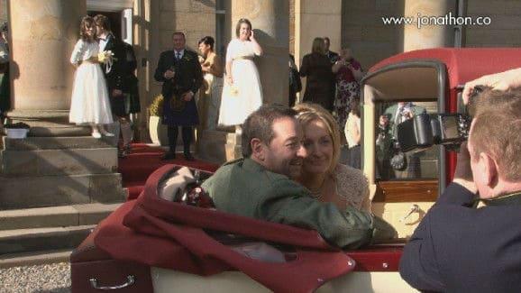 Pat and Gary Balbirnie House wedding