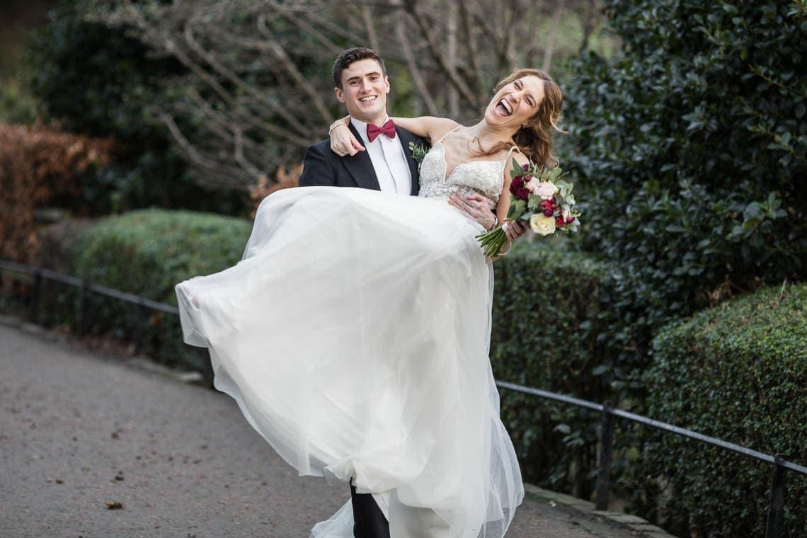 Edinburgh George Hotel wedding photographers