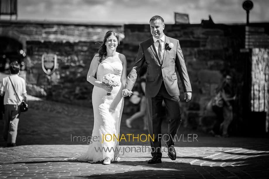 Sharon and Chris' Edinburgh Castle wedding 042