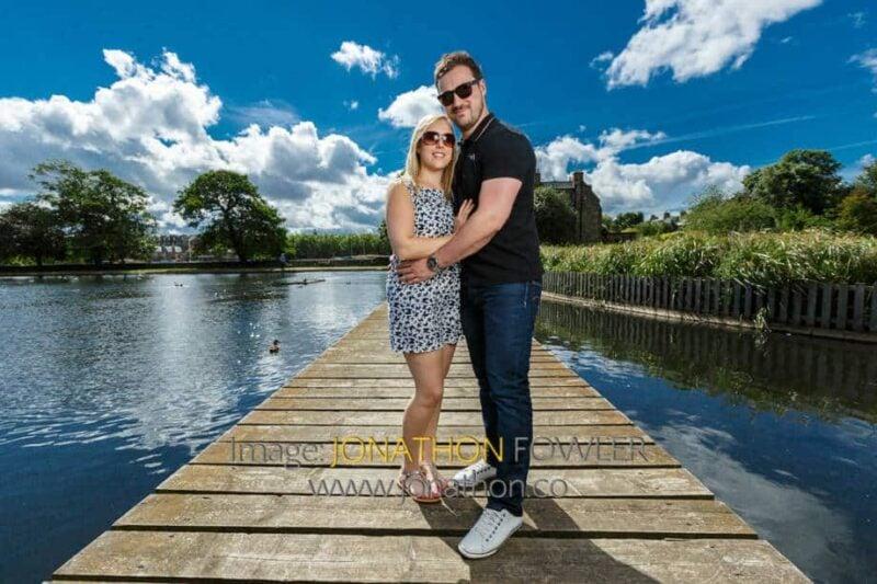 pre-wedding photo shoot at Inverleith Park Laura and Iain 056