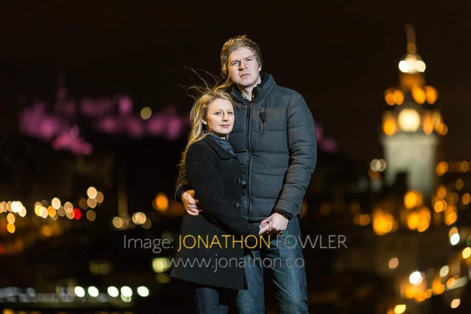 Edinburgh pre-wedding photos