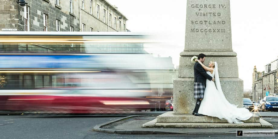 off-peak wedding photography prices in Edinburgh