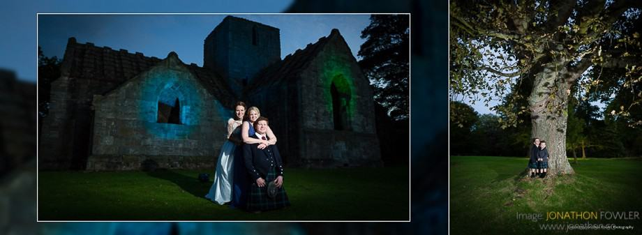 Dunglass Estate wedding album wedding photographers in Edinburgh 26
