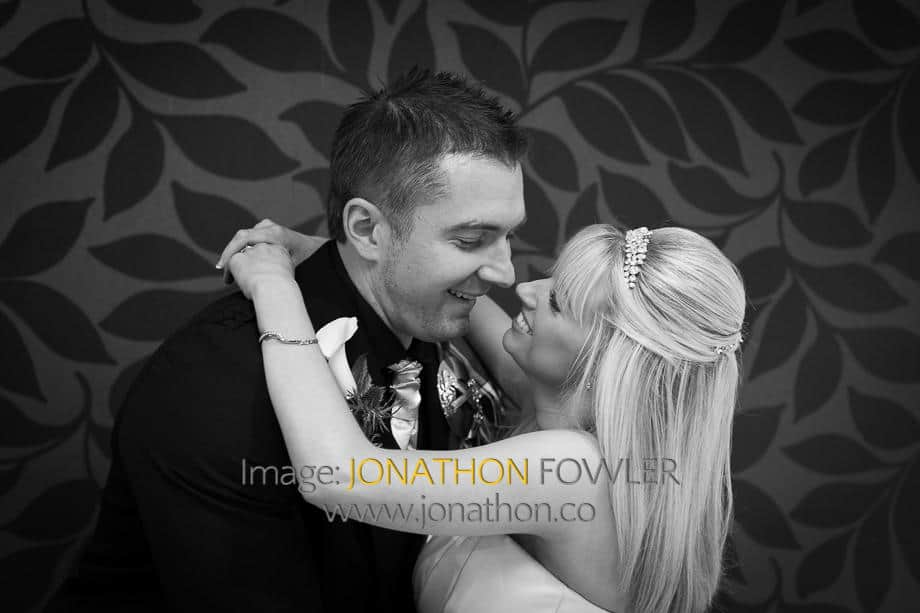 wedding photographers in Edinburgh Capital Hotel
